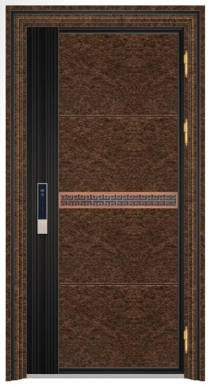 19060 红古铜乱纹+8K黑钛拉丝