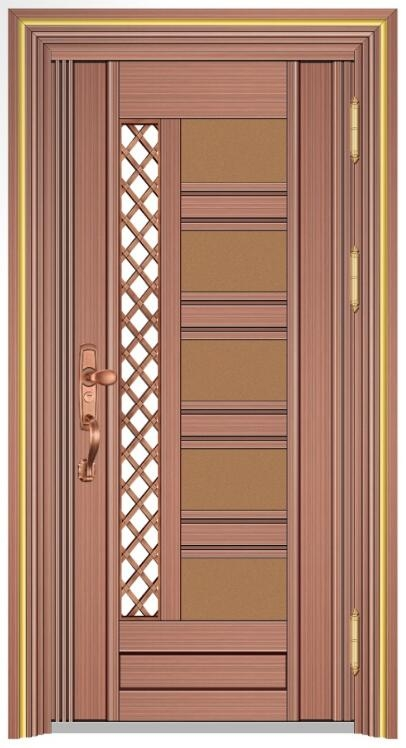 19071 红古铜拉丝金+宝马金