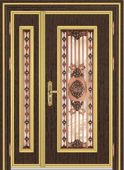 19097红古铜黑底小木纹